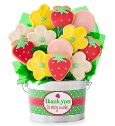 Cheryl's Thank You So Much Cookie Flower Pot 12ct
