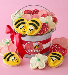 Cheryl's Bee Mine Buttercream Cut-Outs Pail