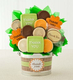 Cheryl's Thank You Cookie Flower Pot - 12ct