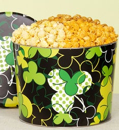 The Popcorn Factory St Pat's 3 Way Popcorn Tin 2G
