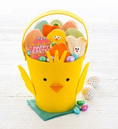 Cheryl's Easter Chick Basket