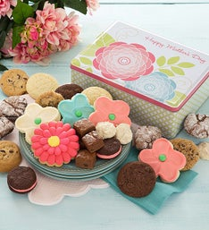 Cheryl's Mothers Day Tin with Treats Assortment