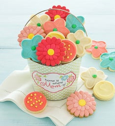 Cheryl's Mothers Day Frosted Cookie Pail