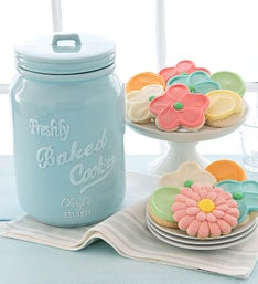 Cheryl's Ceramic Mason Jar with Treats