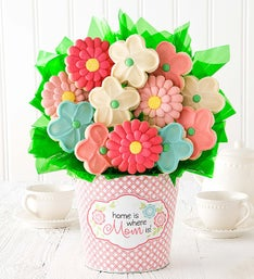 Cheryl's Mother's Day Cookie Flower Pot - Mom