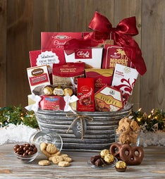 Tempting Treats & Sweets Gourmet Gift Basket