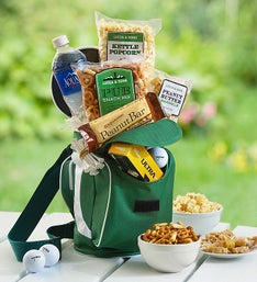 Tee Time Golf Cooler Bag with Snacks