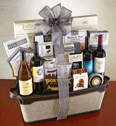 Executive Wine & Gourmet Collection Gift Basket
