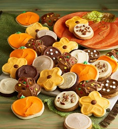 Cheryl's Fall Frosted Cookies