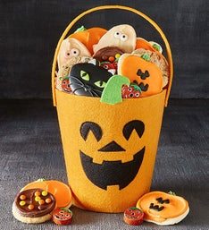 Cheryl's Jack O Lantern Tote with Treats