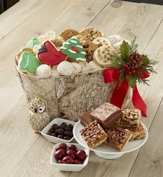 Cheryl's Winter Retreat Birch Basket