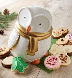 Cheryl's Collector's Edition Snow Owl Cookie Jar