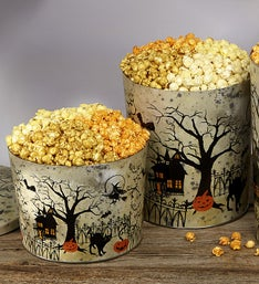 The Popcorn Factory Fright Night Popcorn Tin