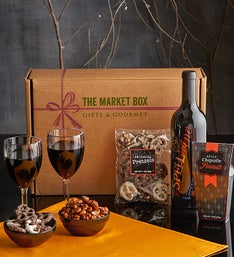 Fright Night Halloween Wine Box