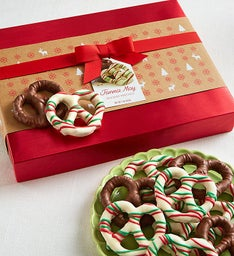 Fannie May® Holiday Pretzel Box