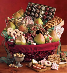 Harry and David Christmas Gift Basket