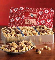 Harry and David Moose Munch Popcorn Trio Tin