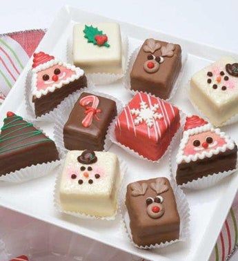 Decadent Holiday Petits Fours