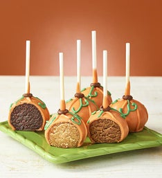 Fall Truffle Cake Pops