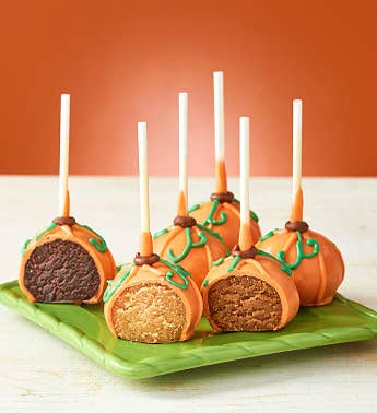 Pumpkin Patch Fall Cake Pops