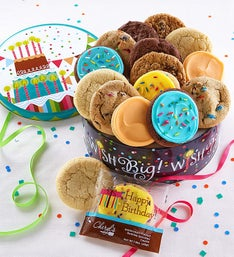 Cheryl's Wish Big! Musical Birthday Gift Tin
