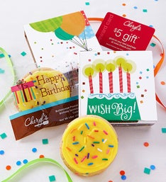 Cheryl's Wish Big! Birthday Cookie Card