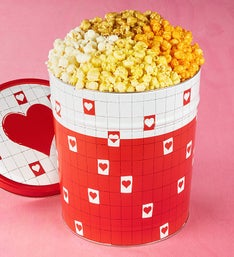 The Popcorn Factory Be My Valentine PopcornTin