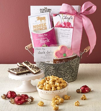 Full Bloom Gift Basket