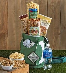 Happy Father's Day Golf Cooler Bag with Snacks