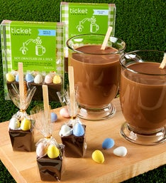 Easter Egg Hot Chocolate on a Stick - set of 6