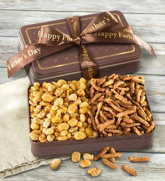 Father's Day Deluxe Nut & Snacks Tin