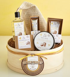 Simply Honey & Coconut Organic Spa Gift Box