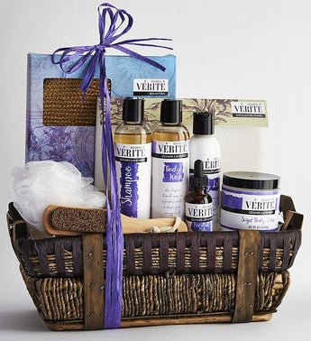 Spa Gift Baskets Pampering Bath And Body Gift Sets 1800flowerscom