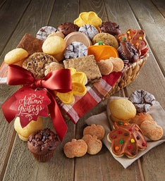 Cheryl's Autumn Greetings Bakery Basket