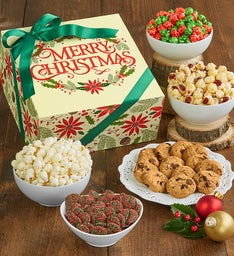 The Popcorn Factory Merry Christmas Sampler