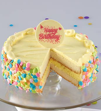 Bake Me a Wish! Vanilla Bean Birthday Cake