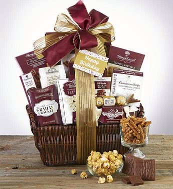 Happy Birthday Deluxe Balsam Gift Basket