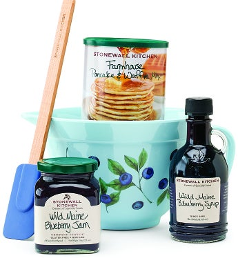 Stonewall Kitchen Blueberry Batter Bowl Gift