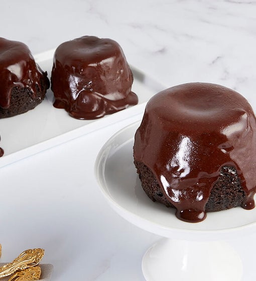 Bake Me A Wish! Chocolate Truffle Lava Cakes