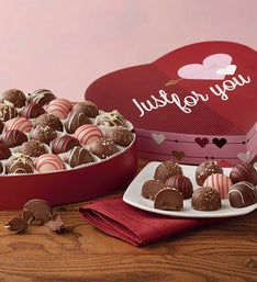 Harry & David® Valentine Truffles Heart Box
