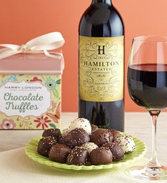 Harry London Spring Truffles & Merlot Wine