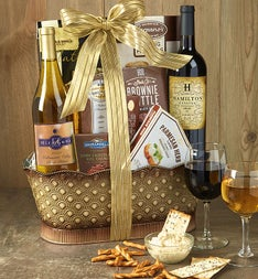With Deepest Sympathy Vineyards Wine Basket