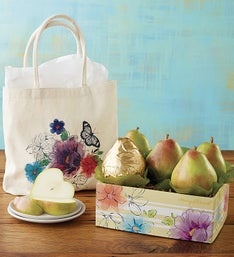 Harry & David Mom's Lunch Tote with Pears