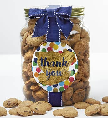 Thank You! Chocolate Chip Cookie Jar