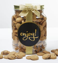 Enjoy! Chocolate Chip Cookie Jar