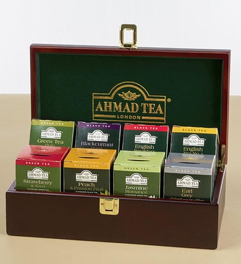 Ahmad of London Wood Tea Chest
