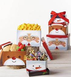 Santa & Friends Sweets Tower