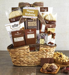 Premier Birthday Favorites Sweets Gift Basket