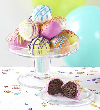 Happy Birthday Cake Truffles