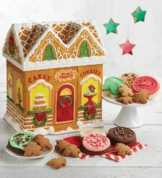 Cheryl's Gingerbread House Cookie Jar